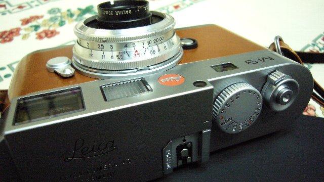 Leica M9+BALTAR35mm