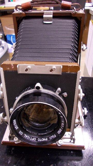 長岡製4X5カメラ