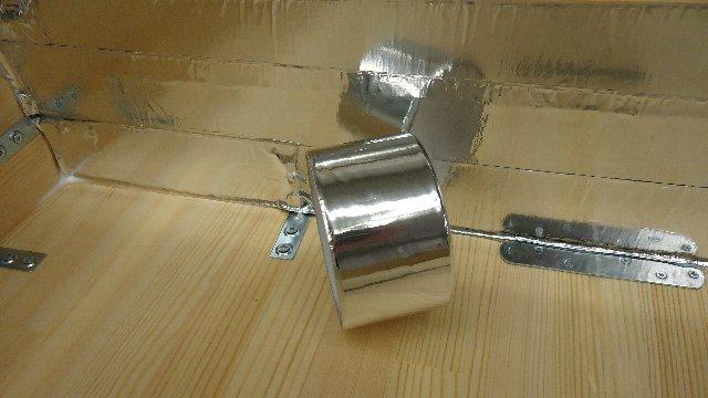 紫外線反射にはアルミ箔