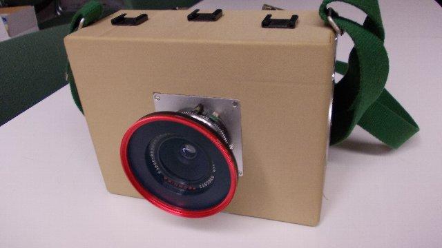 ハンディ4X5カメラ1号機の最終形