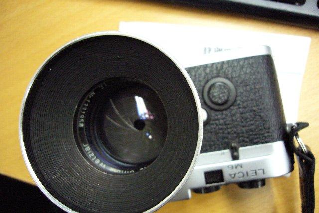 Leica M6とレンズ