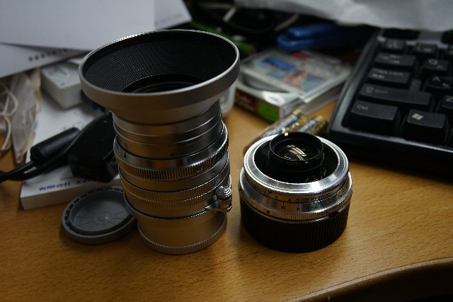 Summarit 50mm f1.5とバルター35mm
