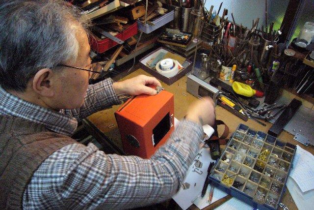 5X7カメラ製作最終工程