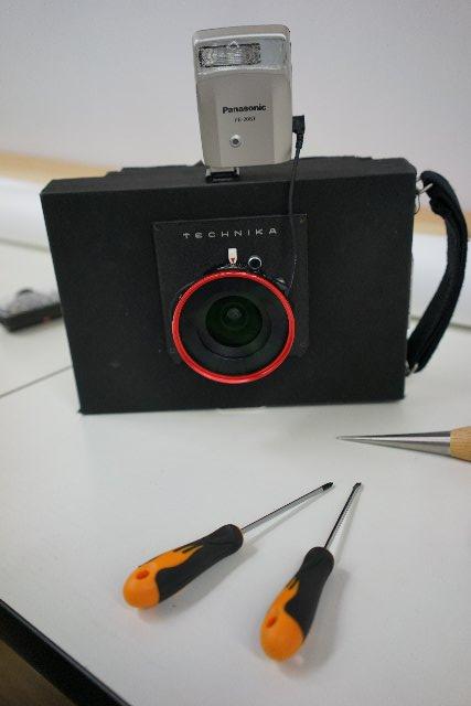 コンパカメラの改造