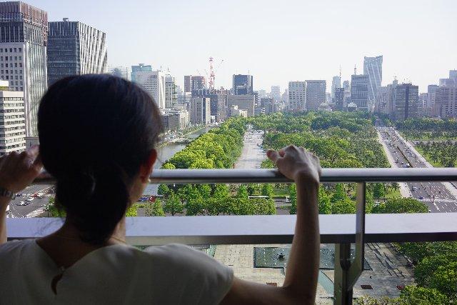 皇居前の眺望