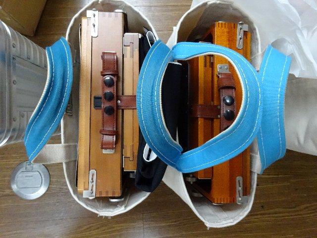 2つの長岡8X10カメラ
