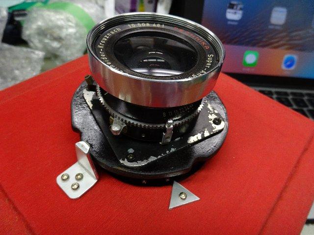 ヘリコイド付き4X5カメラ