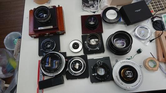 レンズ増殖中.JPG