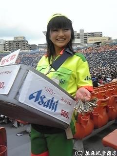 ※ミス横浜スタジアム♪