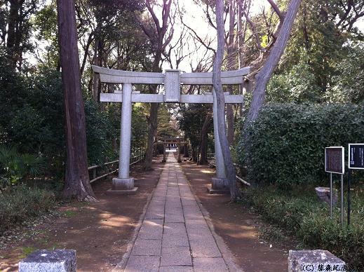 ※喜多見氷川神社