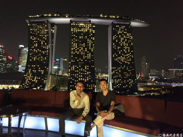 ※IndoChine Rooftop Bar,Supertree Gardens by The Bay