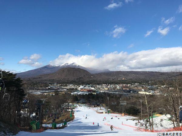 軽井沢プリンスホテル スキー場 浅間山