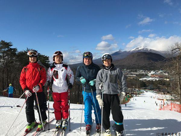 軽井沢 ski Mt.Asama
