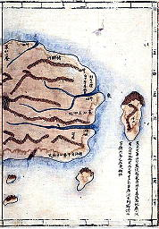 1834年鬱陵島