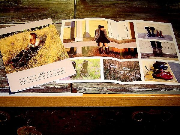 Dansko2011秋冬カタログ