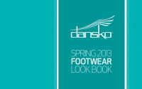 DANSKO SPRING13 FOOTWEAR LOOK BOOK