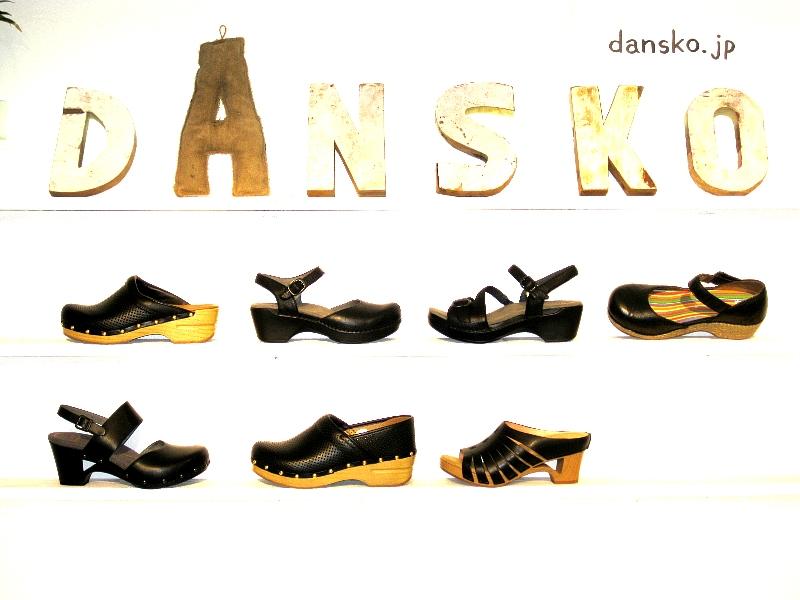 ダンスコ ブラック サマー Dansko Black Summer
