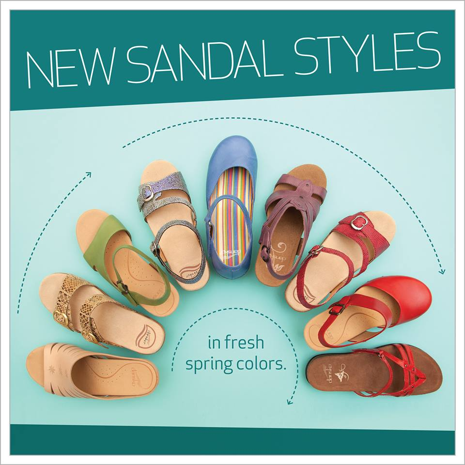 Dansko 「New Sandal Styles」