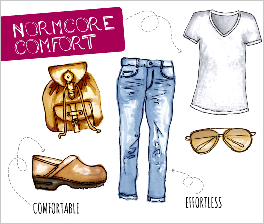 YOUR COMPLETE GUIDE TO NORMCORE 【The Dansko Blog】