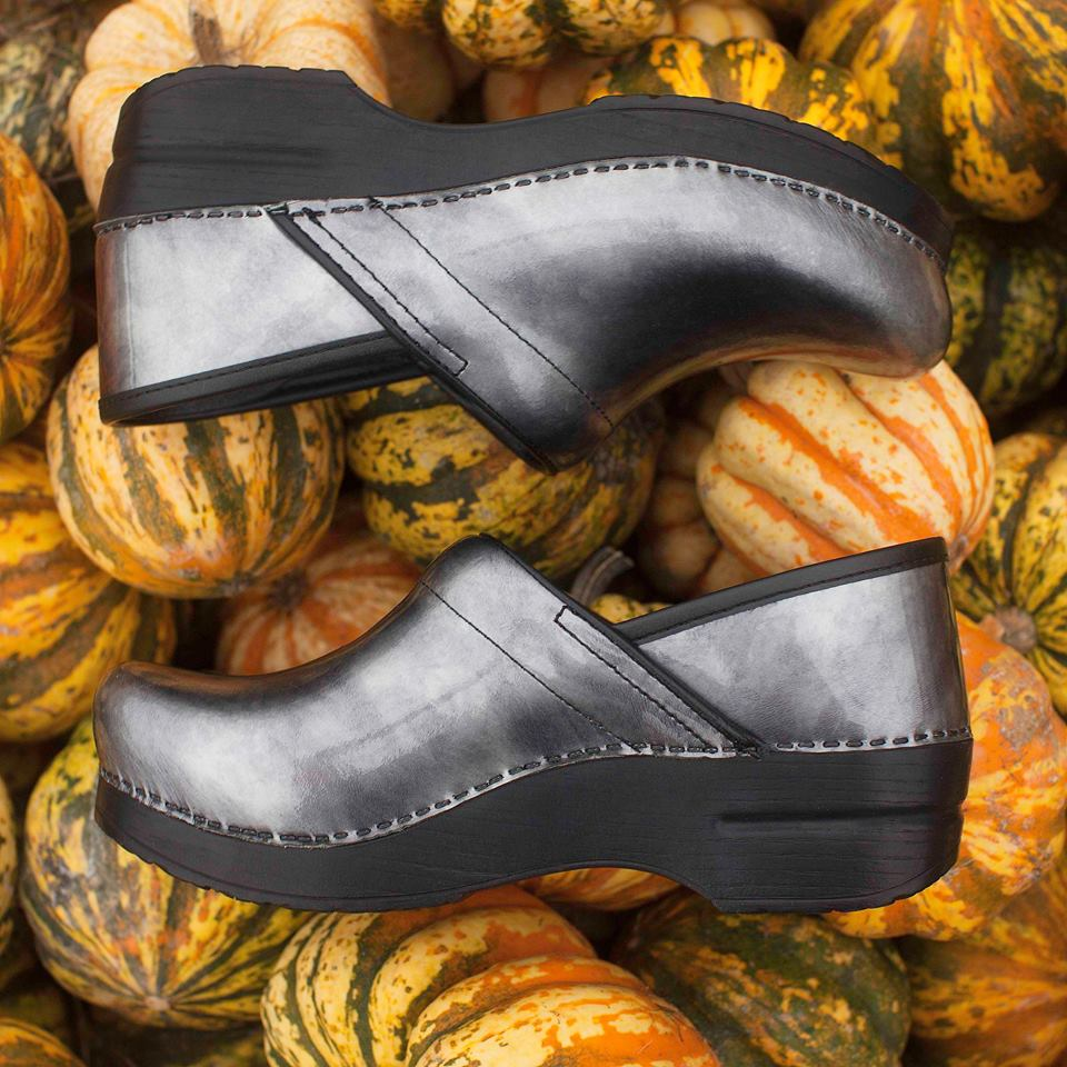 Happy Halloween!!(Dansko Professional Pewter Patent
