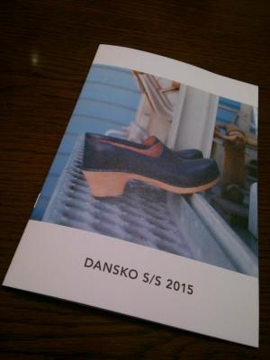 Dansko S/S 2015 カタログ