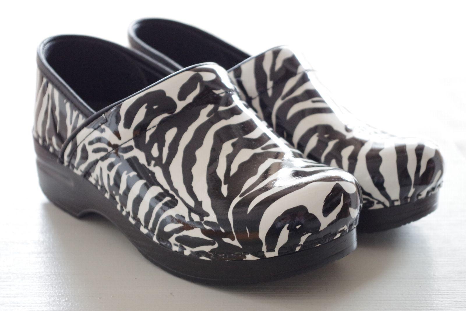ダンスコ プロフェッショナルゼブラパテント Dansko Professional Zebra Patent