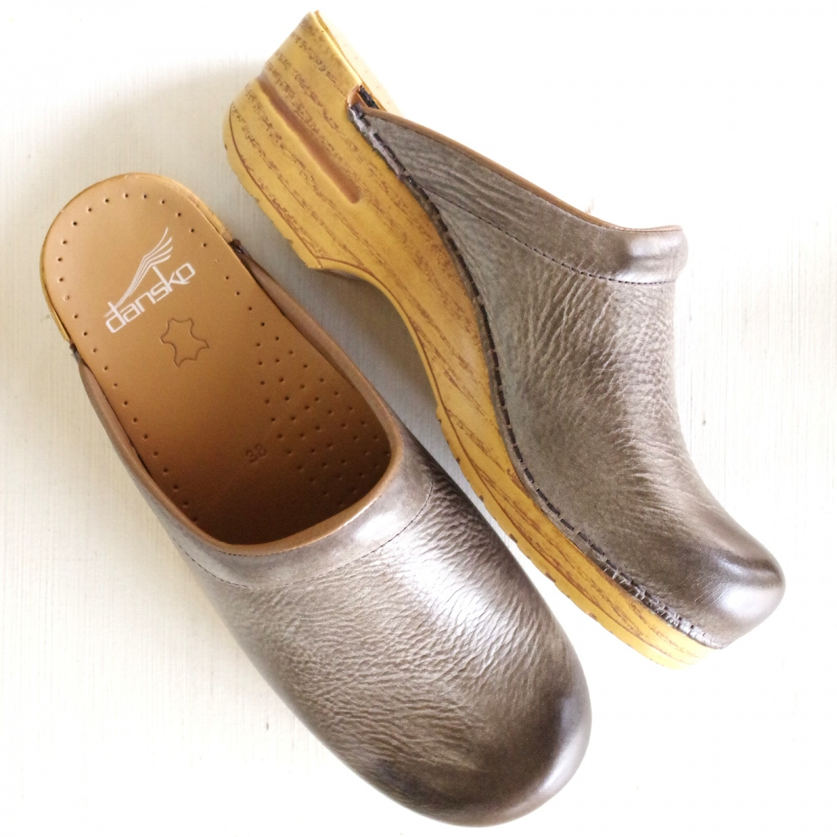ダンスコ ソンヤ Dansko Sonja Stone Distressed / Natural Sole