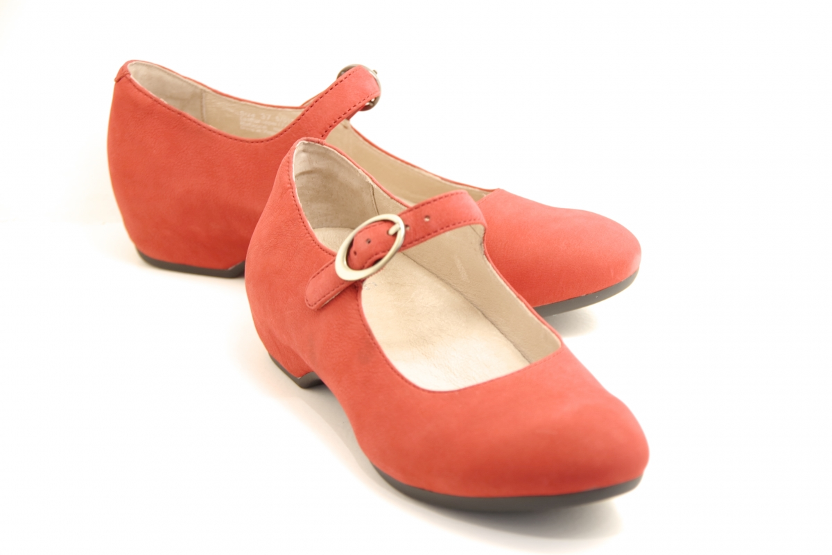 Linette Red Milled Nubuck