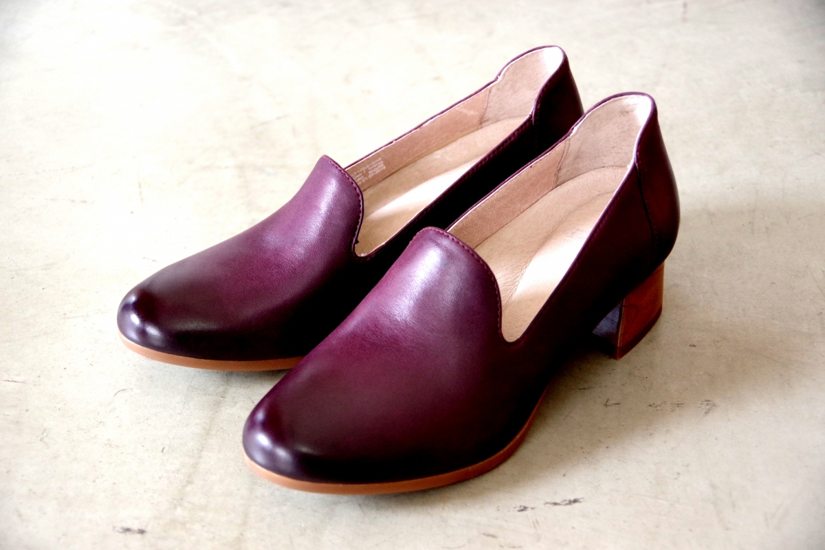 Preston Wine Burnished Nubuck