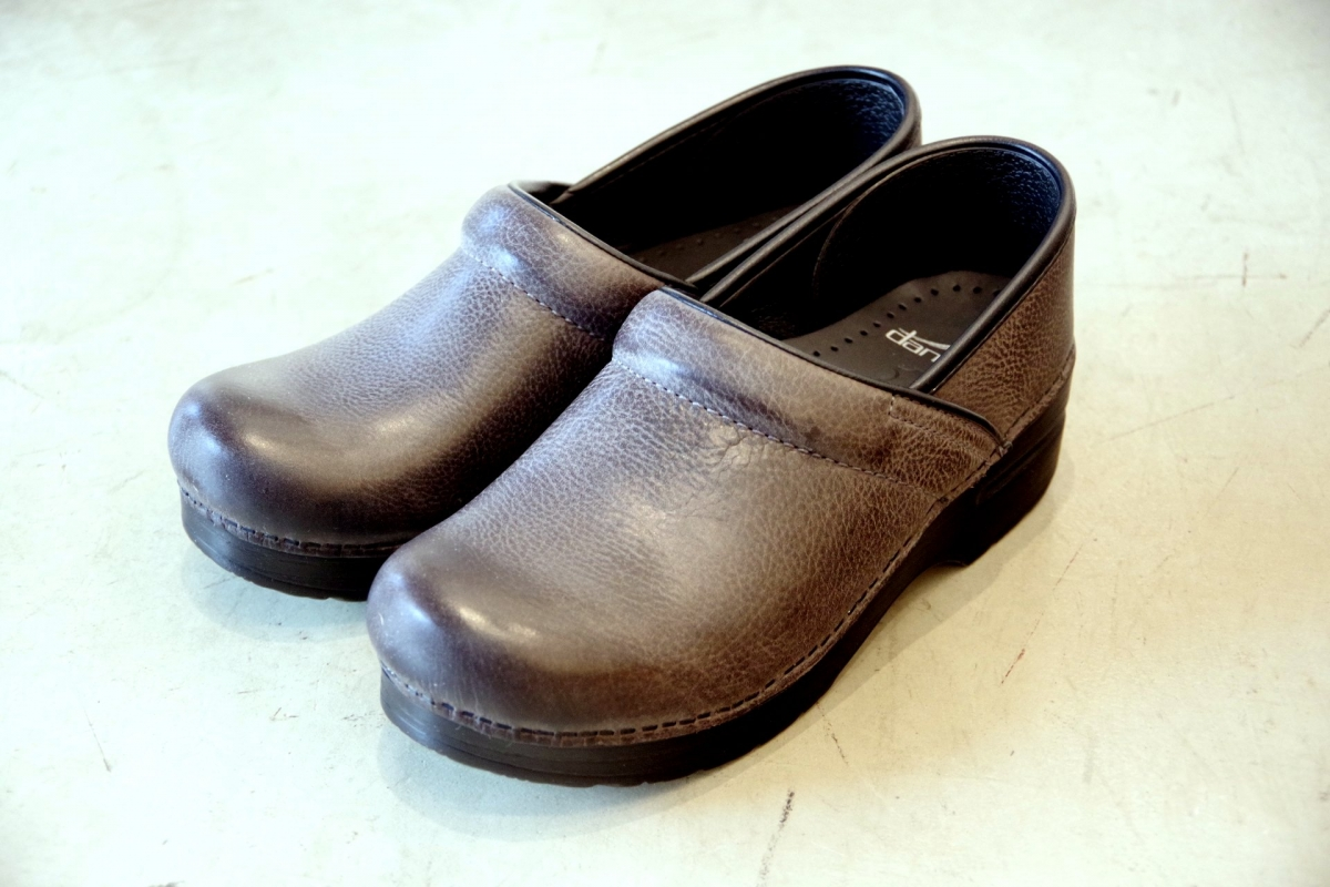Professional Grey Burnish Nubuck
