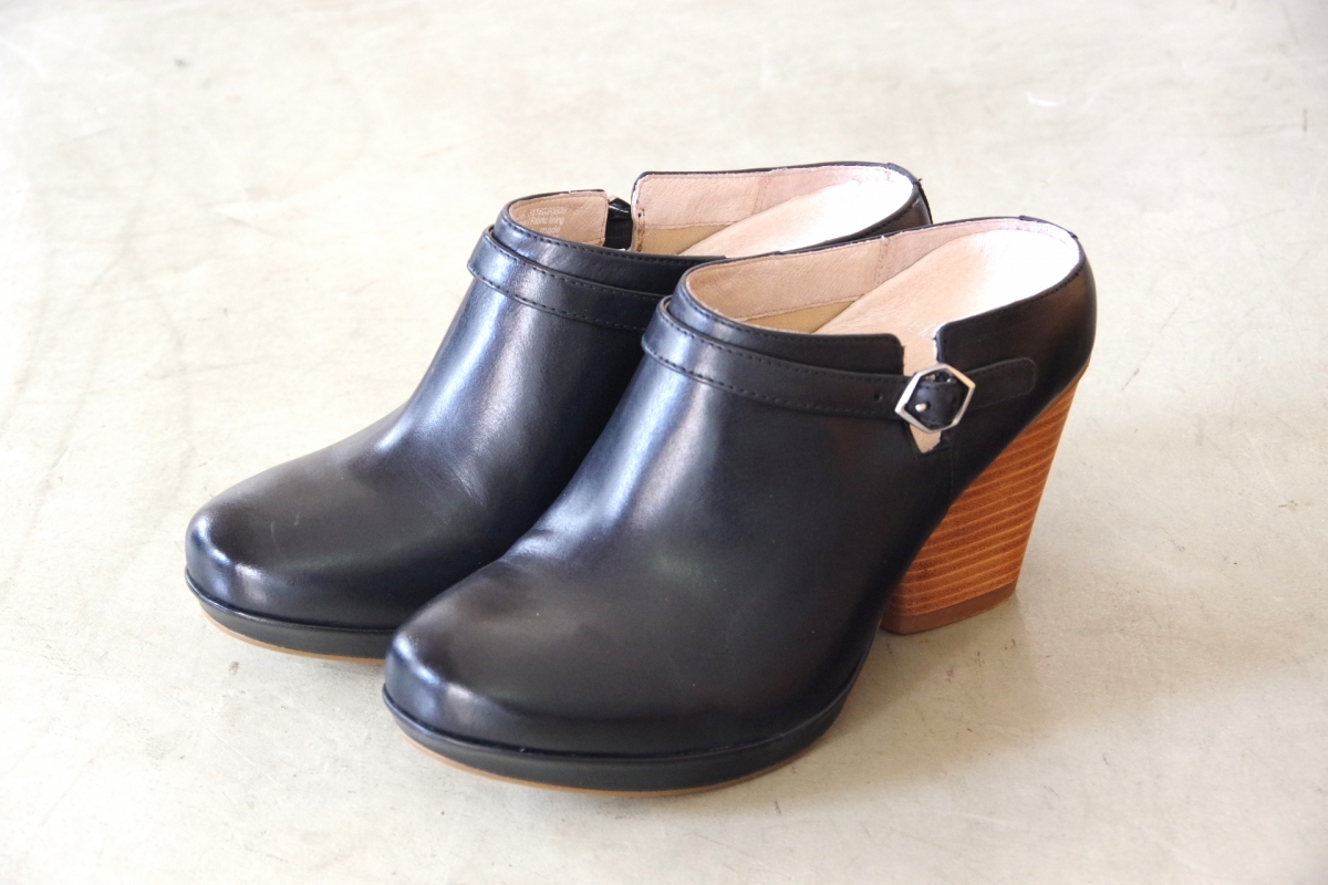 Malissa Black Burnished Calf