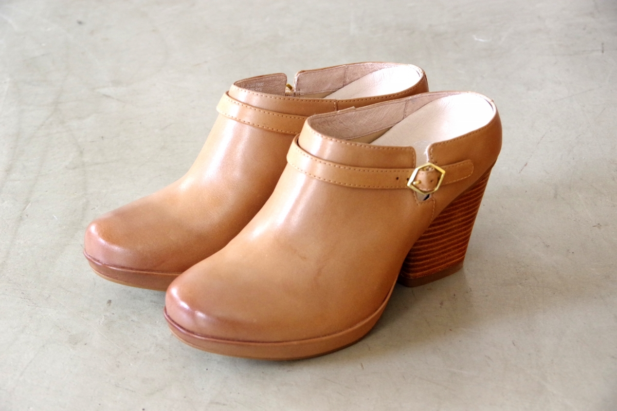 Malissa Tan Burnished Calf