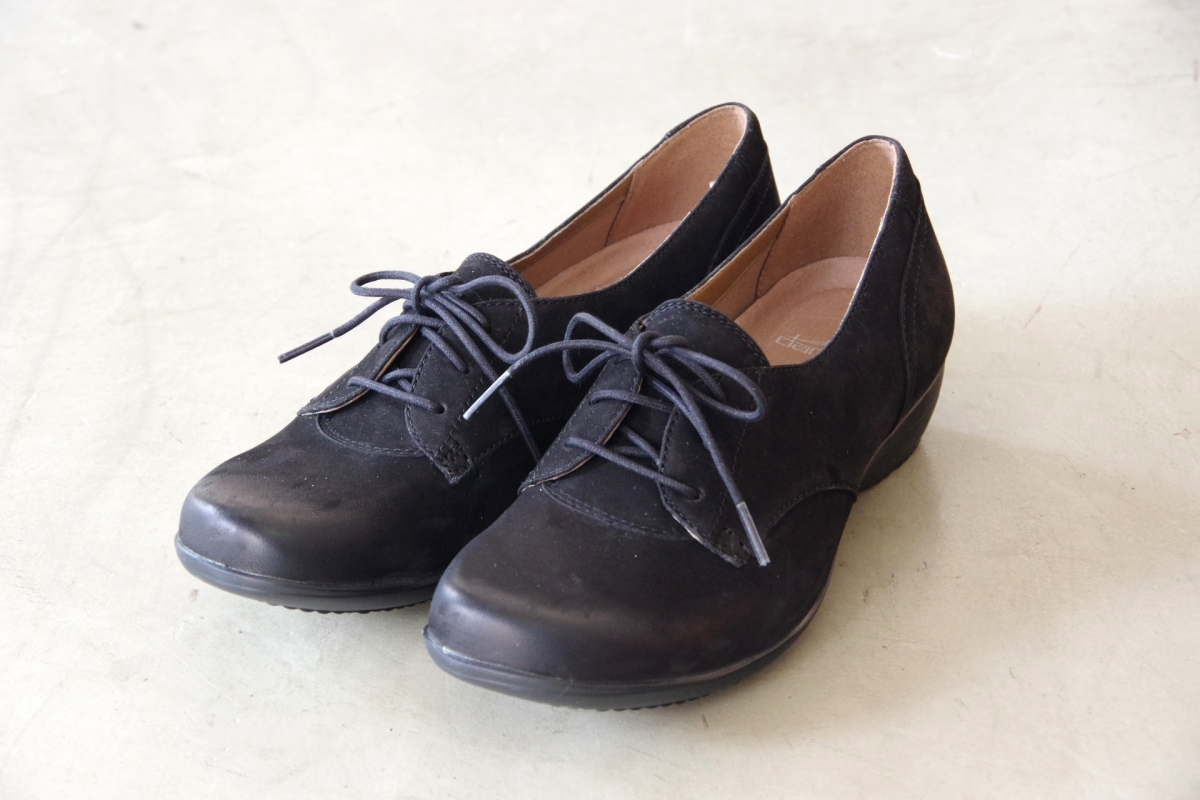 Fallon Black Burnished Nubuck