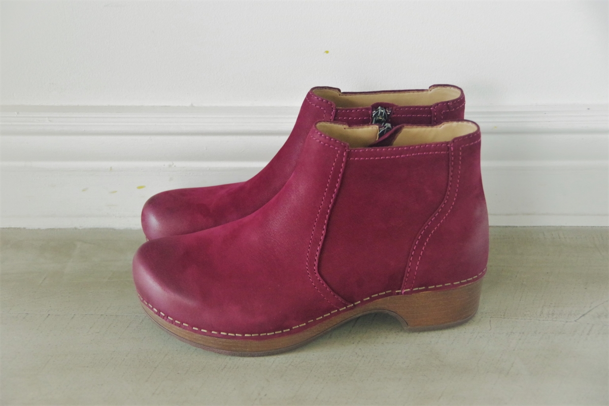 Barbara Wine Burnished Nubuck 28