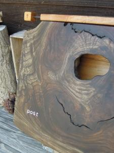 post 木のポスト