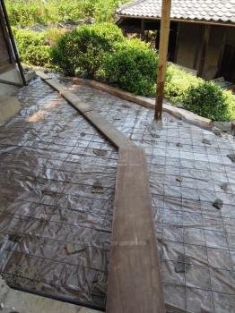 コンクリート DIY