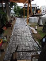 コンクリートを打つ準備