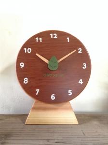 ワダケンホーム 梁 リメイク 木の時計