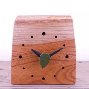 ユリイカ 木工 京都 愛媛 木の時計 引き出物 贈り物 置時計
