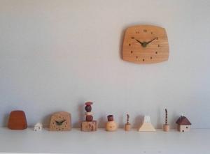 三連時計 木の暮らし