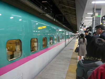 東京駅 はやぶさ