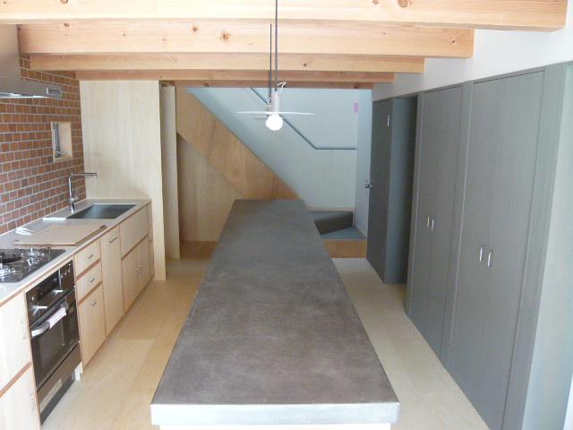 代沢の家 キッチン