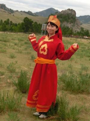 モンゴル遊牧民