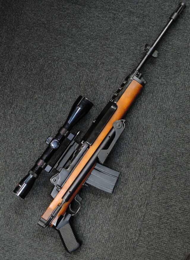 スターム ルガー ミニ14 自動小銃 フォールディング ストック モデル