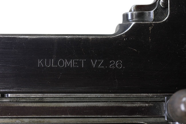 【4725】ZB26-軽機関銃-(チェコスロバキア国章、#5961L)刻印2.jpg