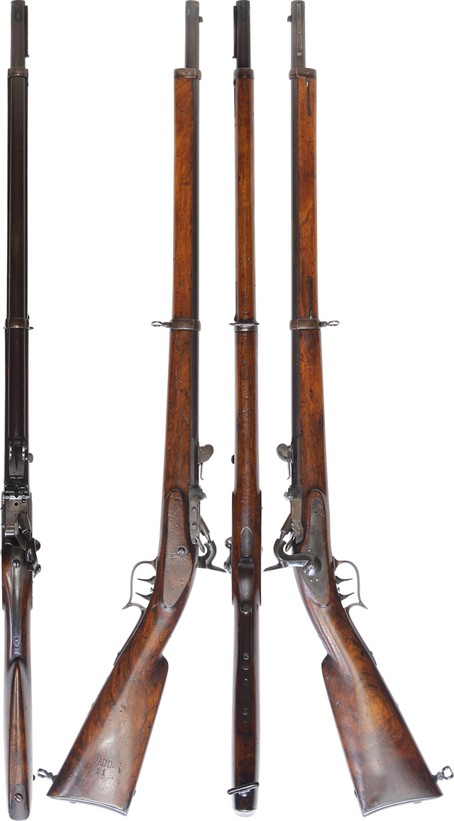 スイス M18565967 後装式猟兵銃 (無可動古式銃、#184).jpg