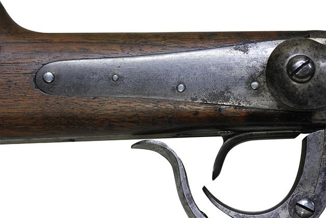 【5982】バーニンサイドM1864カービン(#14198、銃砲刀剣類登録証付古式銃)-トリガー.jpg