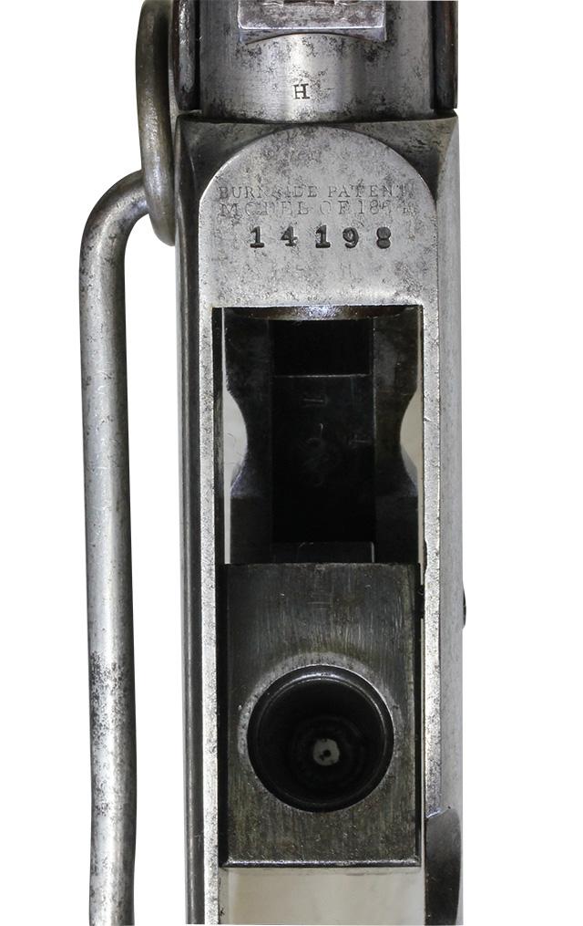【5982】バーニンサイドM1864カービン(#14198、銃砲刀剣類登録証付古式銃)-刻印開.jpg