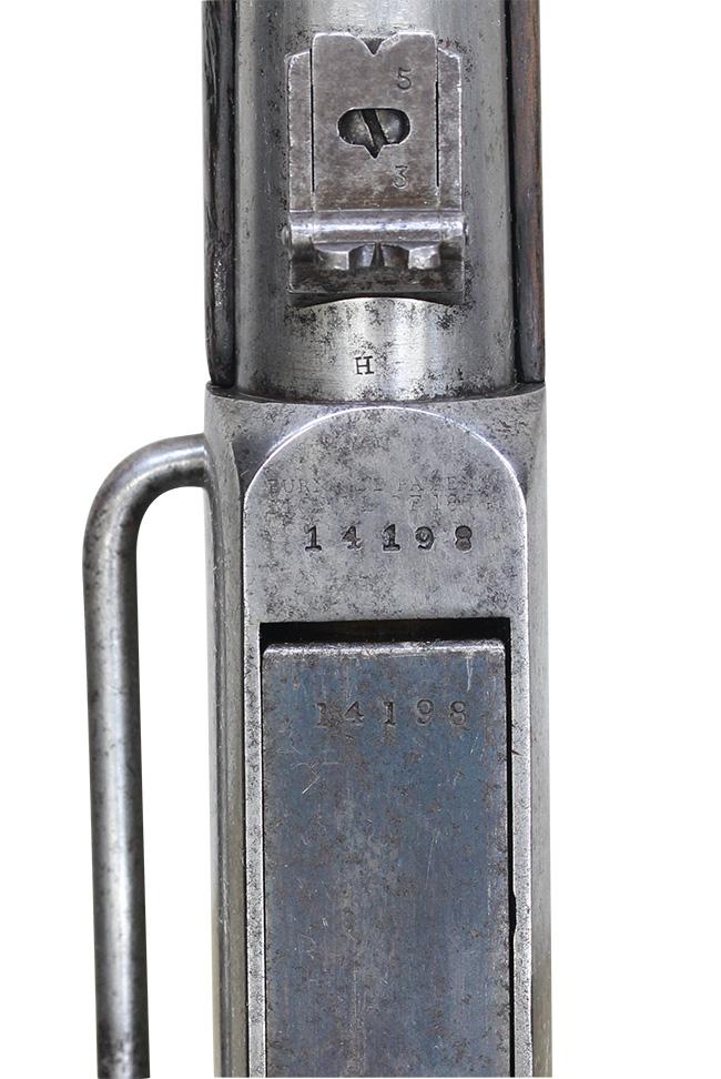 【5982】バーニンサイドM1864カービン(#14198、銃砲刀剣類登録証付古式銃)-刻印閉.jpg