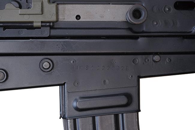 【2350】L85A1-(SA80)-自動小銃-(#UN91A223929)刻印.jpg